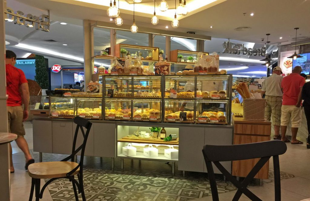 bread talk in Pattaya im Royal Garden