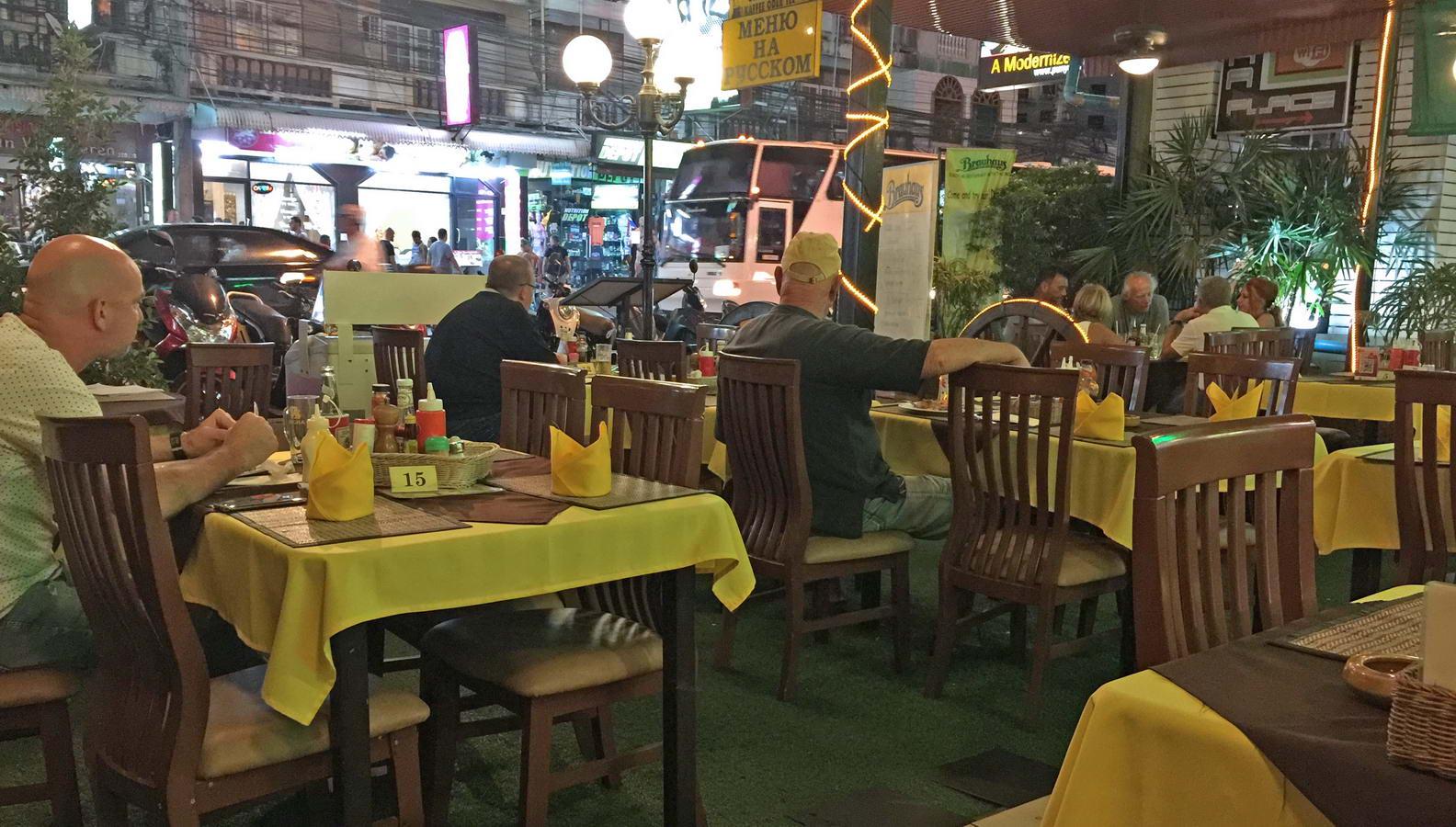 Das deutsche Restaurant Brauhaus