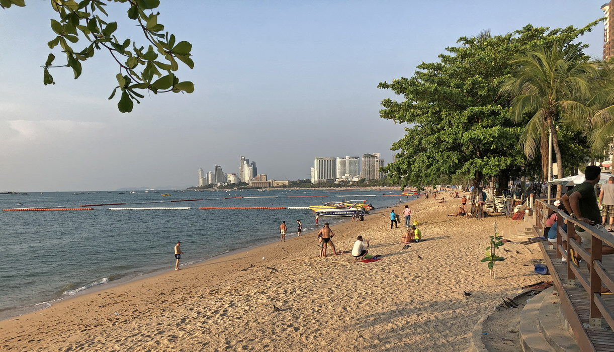 Strand in Pattaya Thailand