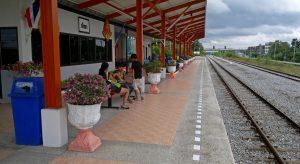 Railway Station Pattaya - Bahnhof - Thailand XXL