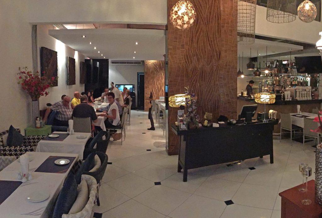 Innenbereich des Restaurants Siames Cuisine