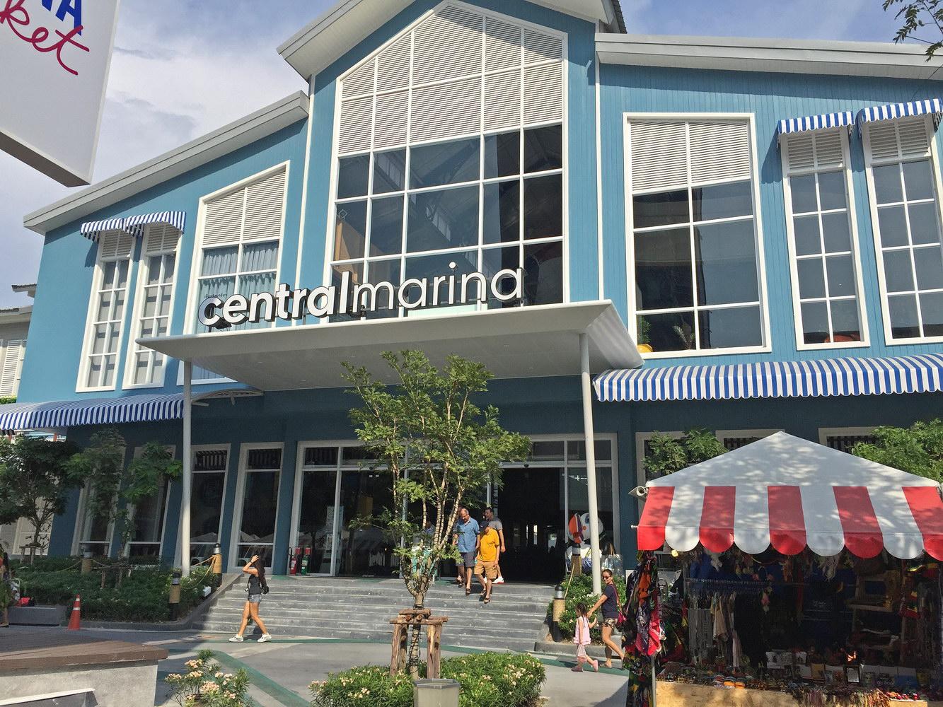 Central Marina Einkaufszentrum Pattaya