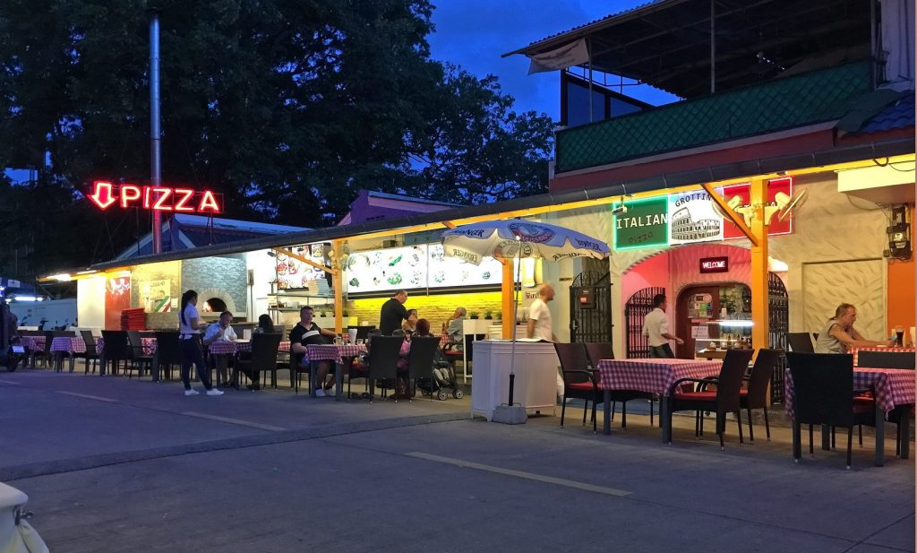 Italienisches Restaurant in Naklua Pattaya