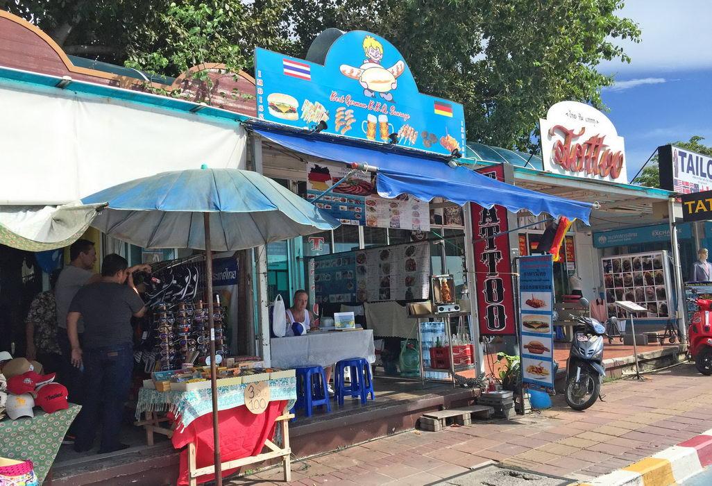 Deutscher Imbiss in Pattaya Beachroad