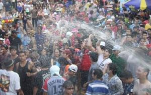 Wasserfest - Songkran Pattaya Thailand