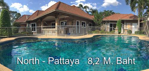 Traumvilla in Nordpattaya mit Gästehaus und Swimmingpool