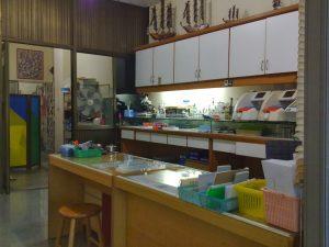 Innenbereich des Labors :Einfach, aber sauber