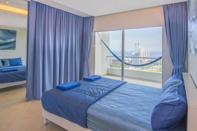 Zweites Schlafzimmer im Pattaya Hill Resort condo
