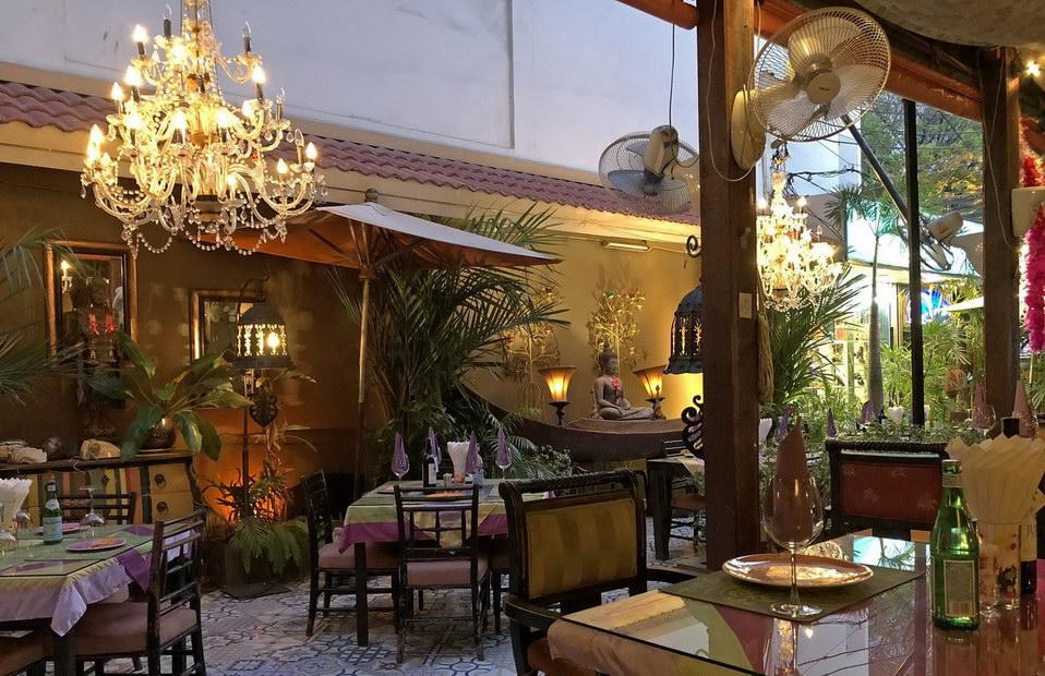 Gemütliches Restaurant in Jomtien Thailand