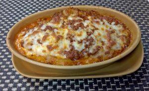 Lasagne al Forno im Bella Italia Naklua : 270 THB