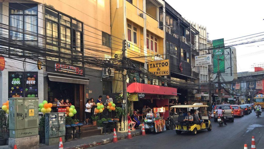Soi Nana Bangkok mit vielen Bars