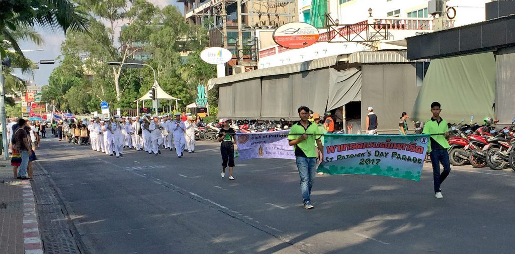 Sankt Patricks Parade Pattaya 2017
