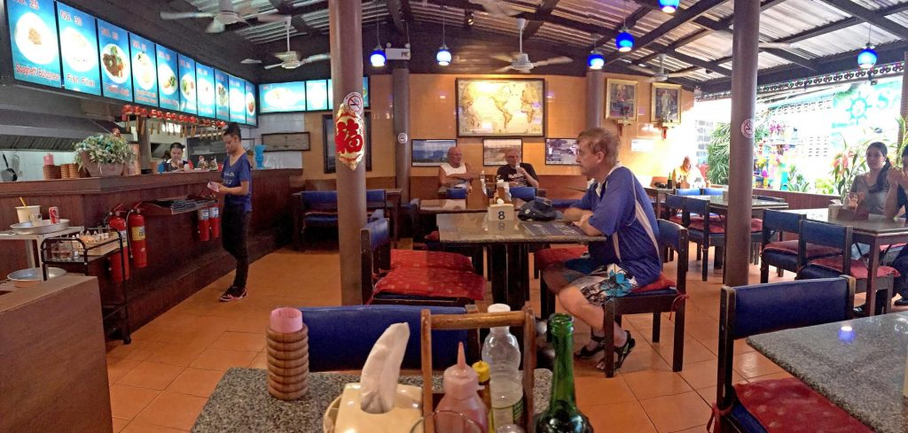 Restaurantbereich der Sailor Bar Pattaya