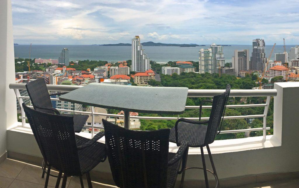 aussicht vom Pattaya Hill Resort