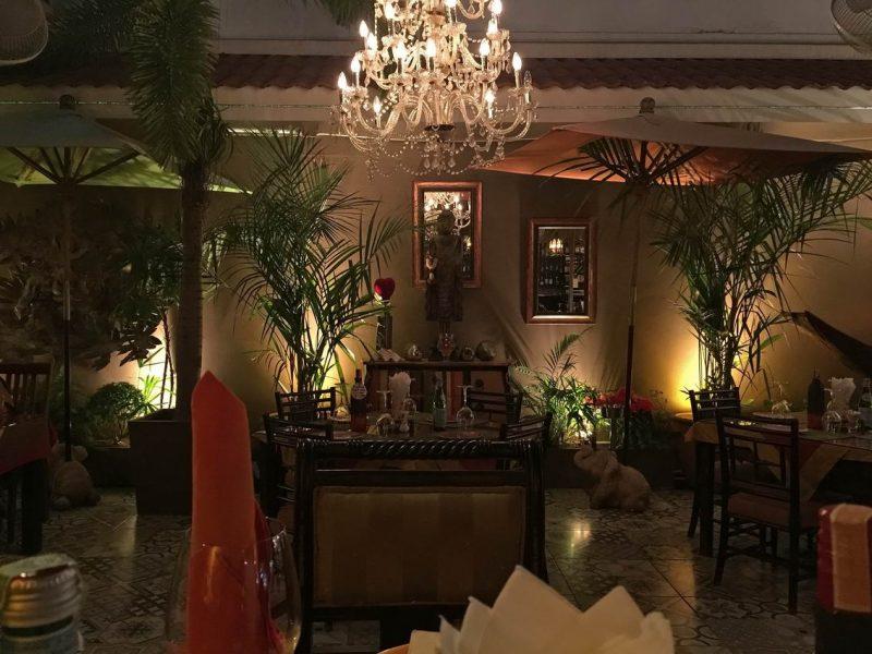 Natans französisches Restaurant Pattaya Jomtien