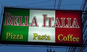 Bella Italia italienisches Restaurant Naklua