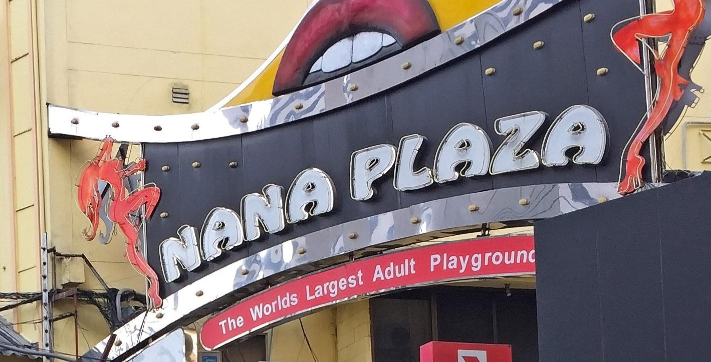 Abriss des Nana Plaza und das Landmark Hotel in Bangkok