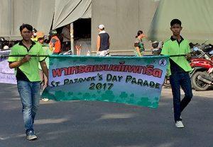 St. Patricks Parade in Pattaya 2017