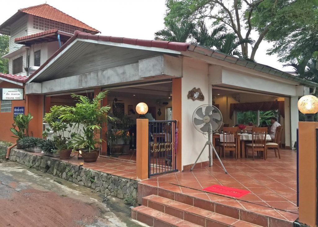 Da Marco Restaurant von aussen