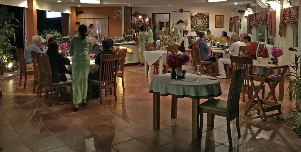 Italienisches Restaurant auf der Dark Side von Pattaya : Da Marco