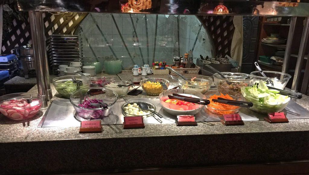 Salatbuffet Swissfood Pattaya