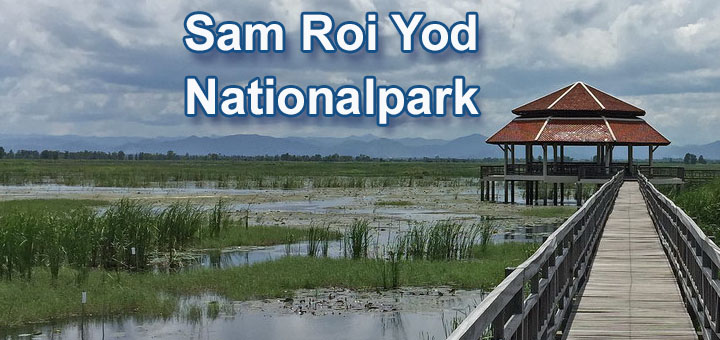 Sam Roi Yod Nationalpark Thailand
