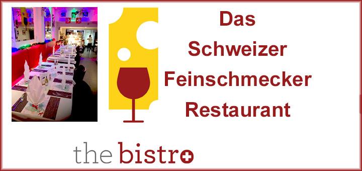 Schweizer Feinschmecker / Gourmet - Restaurant Pattaya