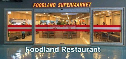 Foodland Restaurant Royal Garden Pattaya