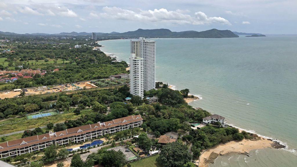 Bangsaray Strand vom Krisada Condo