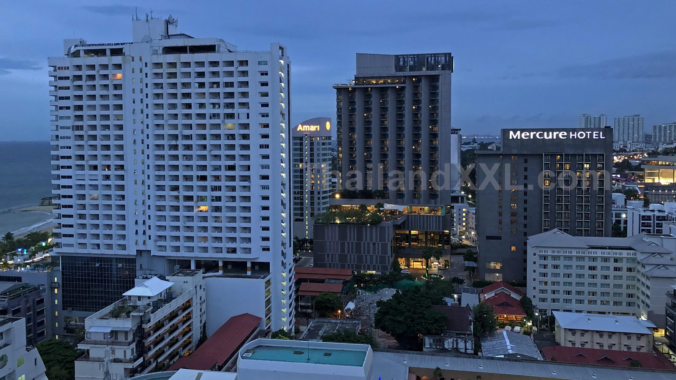 Vom Pippa Restaurant - MYTT Hotel - nach Norden fotografiert