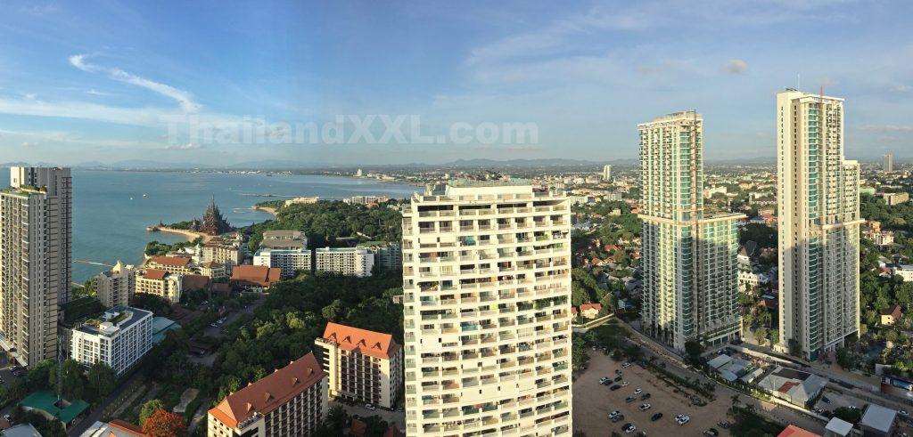 Blick vom Wongamat Tower in Richtung Nordenosten Naklua