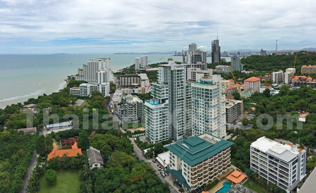 Panoramafoto Prathumnak Pattaya Thailand