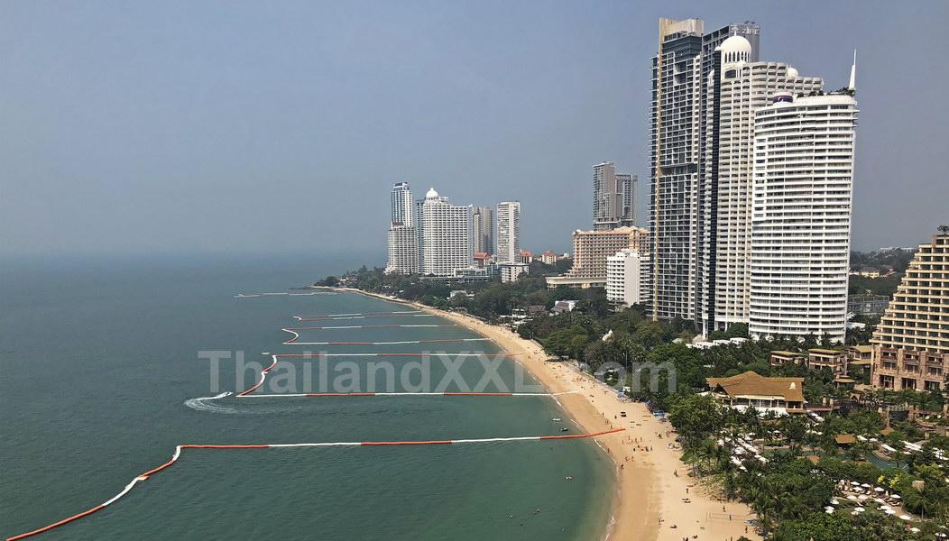 Wongamat Beach vom Cove Condo