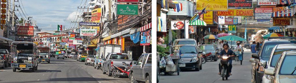 Buntes Leben in Pattaya