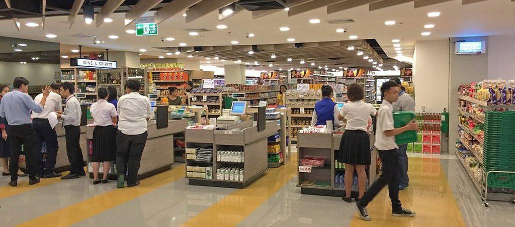 einkaufen im Supermarkt in pattaya