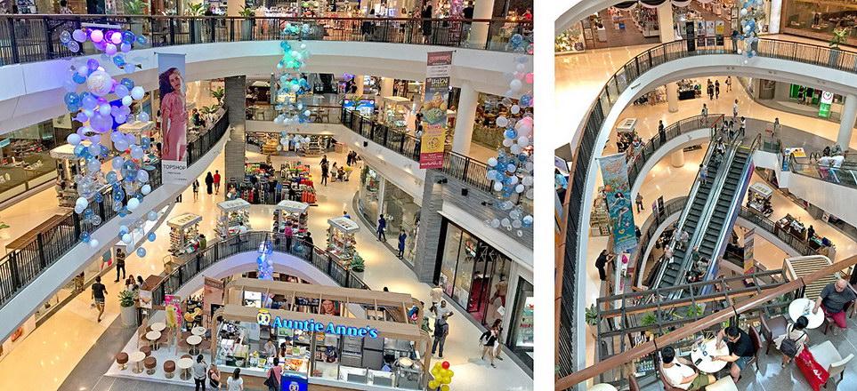 Einkaufszentrum Pattaya mit moderner Architektur