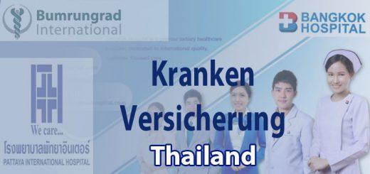 Krankenversicherungen Thailand für Auswanderer und Residenten - Expats