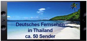 Deutsches Fernsehen in Pattaya mit ca. 50 deutschen fernsehsendern