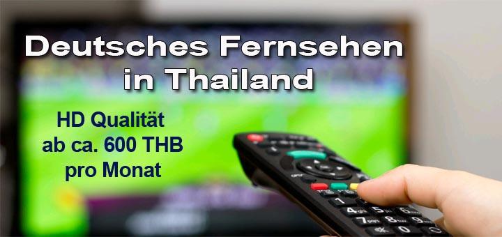 Deutsches Fernsehen in Thailand per Internet in HD Qualität