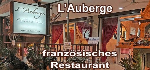 L'Auberge Französiches Restaurant Pattaya