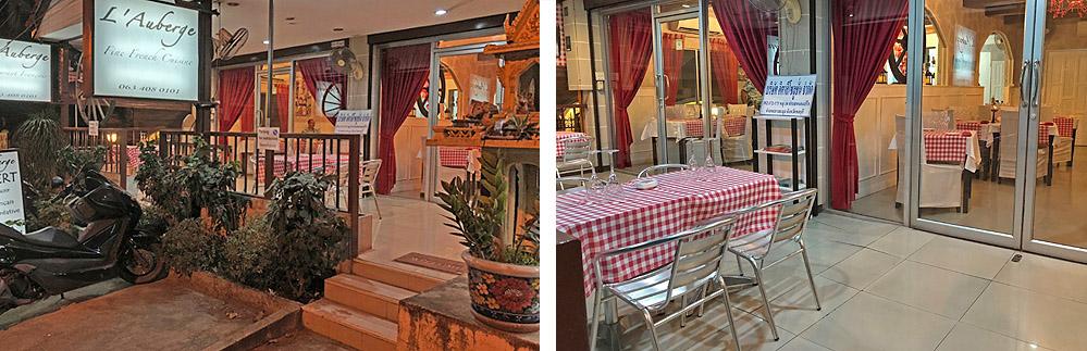 Pattaya französisches Spezialitäten Restaurant