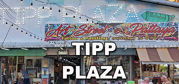Tipp Plaza Pattaya Art Street