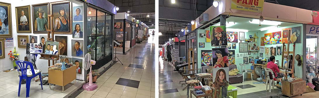 Ölgemälde preiswert malen lassen Pattaya
