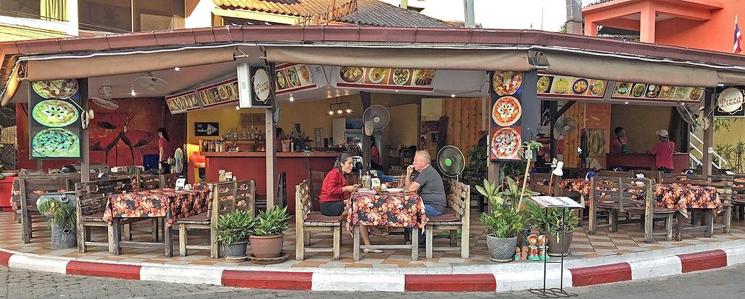 Restaurant Art street Pattaya