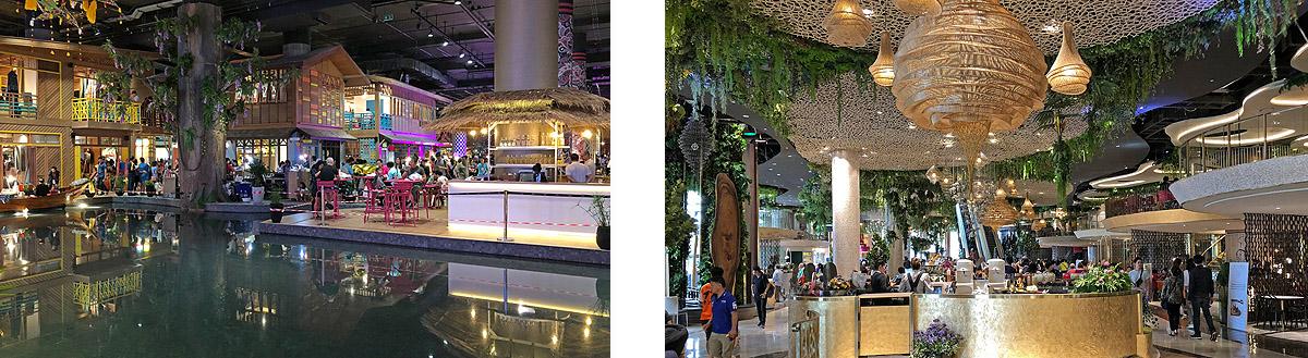 shopping center bangkok Thailand