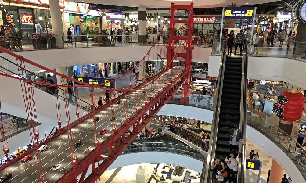 tower bridge london im einkaufszentrum pattaya