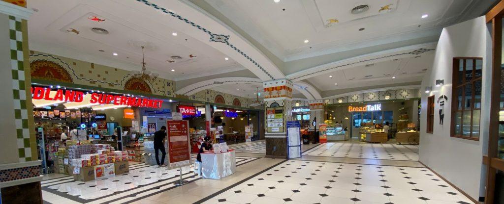 Terminal 21 Pattaya corona Krise beschränkungen