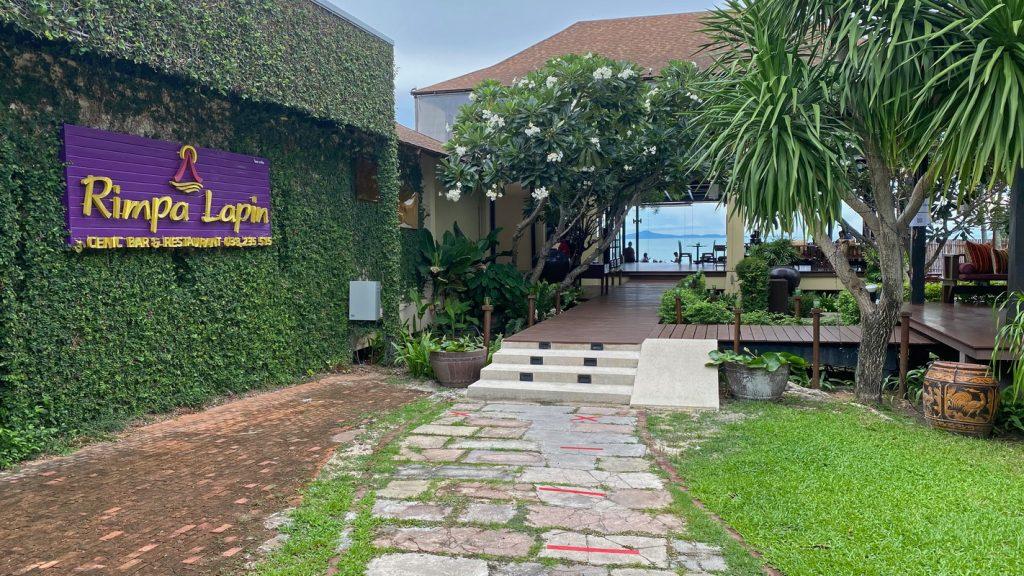 Eingangsbereich Rimpa Lapin Na Jomtien
