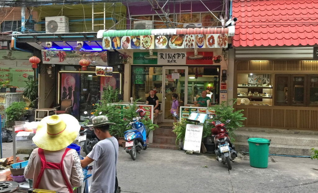 Rinapp italienisches Restaurant Pattaya