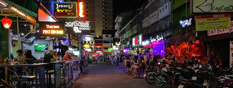 Pattaya in Coronazeiten - Soi LK Metro Nachtleben September 2020
